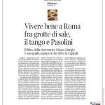 È facile vivere bene a Roma se sai cosa fare - articolo di Lili Garrone per Il Corriere della Sera (22/01/2017)